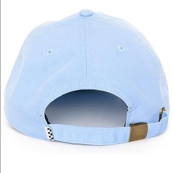 Light blue vans baseball cap. M 5ac6f13e00450fb56f8e33bb 5f38b6bb011